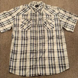 7 Diamonds Button Up Shirt